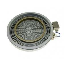 Конфорка для стеклокерамических поверхностей, D=210/205 мм.  C00084563