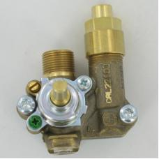 Кран для газовой плиты CAL22100 с ГК