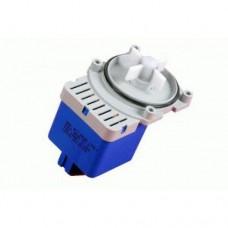 Насос сливной для стиральной машины на 4 самореза, выход сзади под фишку 163SI15
