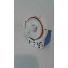 Насос сливной для стиральной машины на 4 защелки, подключение сзади под фишку